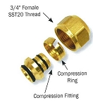SST20 Compression Fitting