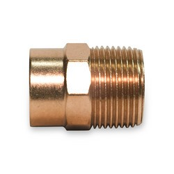 "1"" x 3/4"" Copper Adapter C x Male"