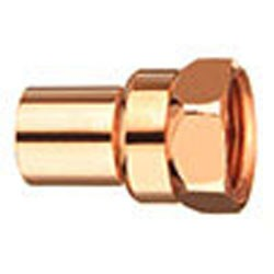 "1"" Copper Fitting Adapter - Street - FTG x Female"
