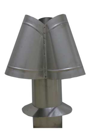 Stainless Steel Chimney Cap - 6""