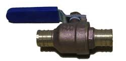 "1/2"" Crimp x 1/2"" Crimp Full Body Ball Valve"