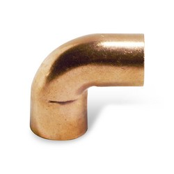 "1"" 90º Copper Elbow - Street FTG x C"