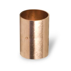 "1-1/4"" Copper Rolled Stop Coupling C x C"